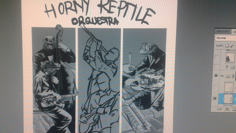 The Horny Reptile Orchestra 8