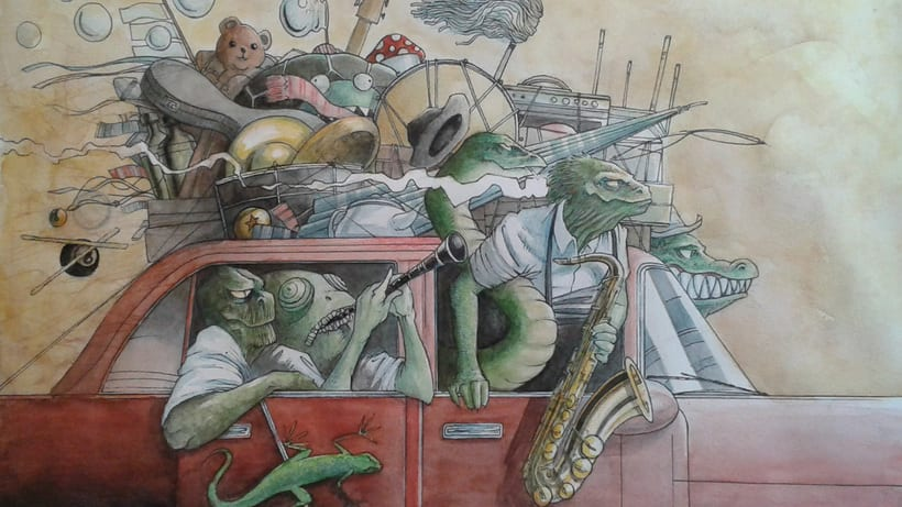 The Horny Reptile Orchestra 6