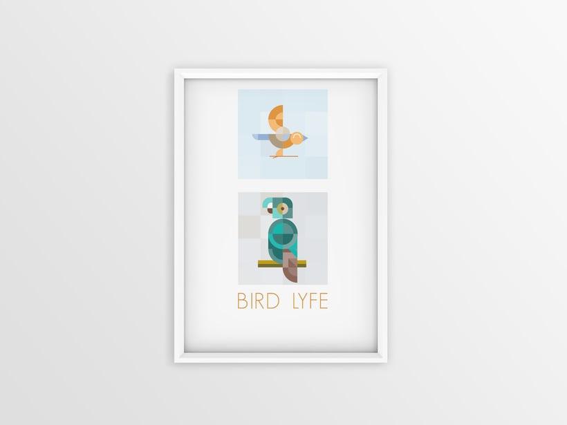"""Mi Proyecto del curso: Motion graphics y diseño generativo """"Bird Life"""" 7"""