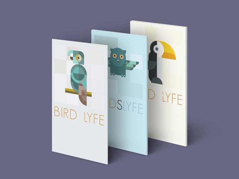 """Mi Proyecto del curso: Motion graphics y diseño generativo """"Bird Life"""" 8"""