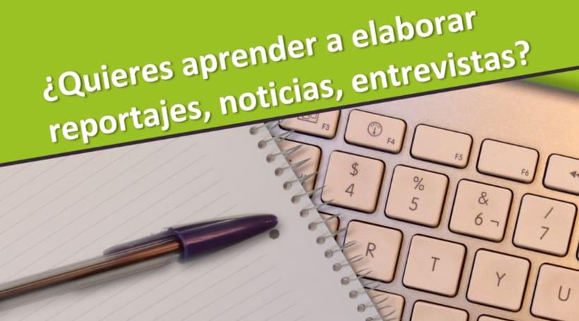 """Promo  """"Curso de Periodismo Y Comunicación Audiovisual"""" 0"""