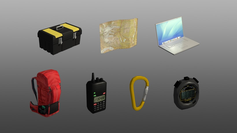 Rescatistas: lowpoly game assets 5