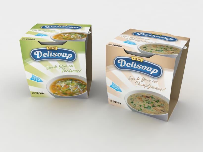 Delisoup: Branding y Packaging 1