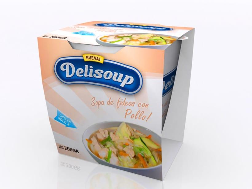 Delisoup: Branding y Packaging 2