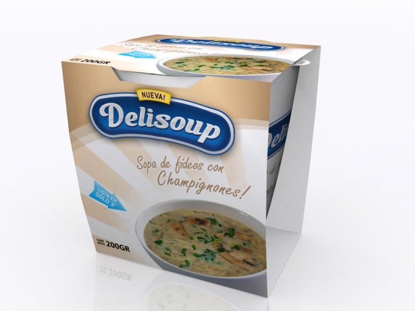 Delisoup: Branding y Packaging 3