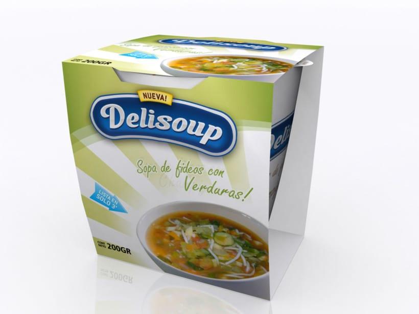 Delisoup: Branding y Packaging 4