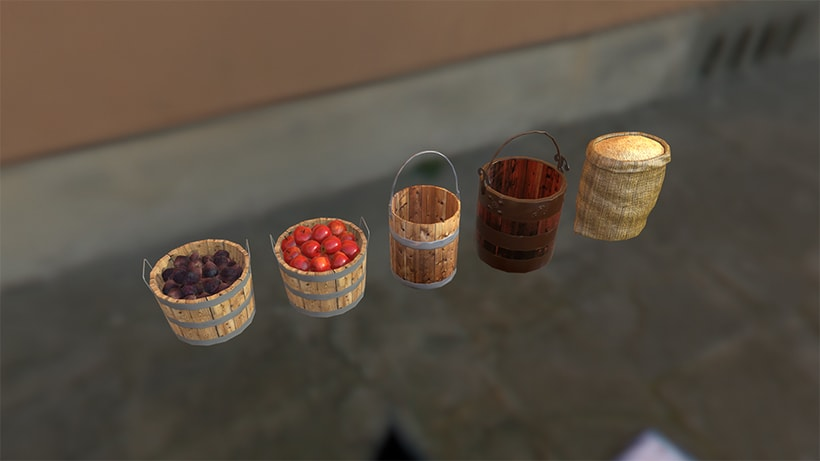 Life of Rome - game assets production 2