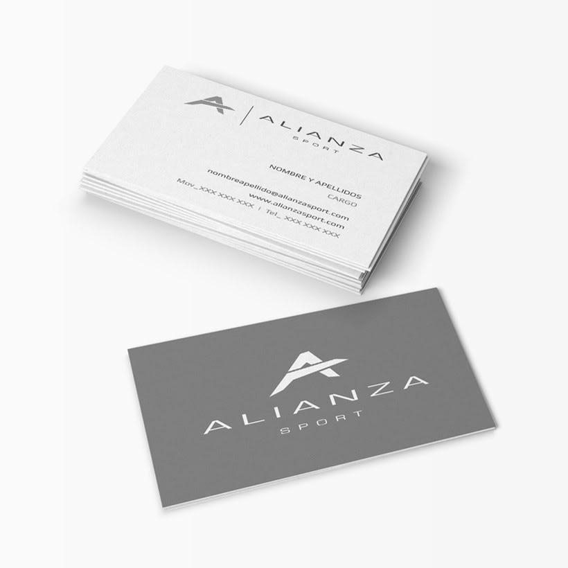 Alianza Sport - Tarjetas -1