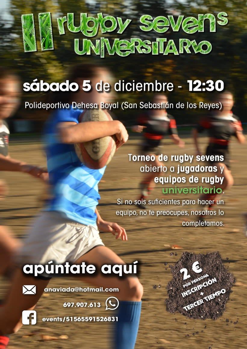 II torneo de Rugby 7s universitario -1