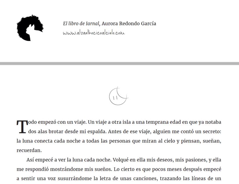 El libro de Iarnal (proyecto de autoedición) 2