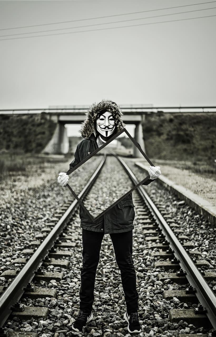 La vida del anónimo 0