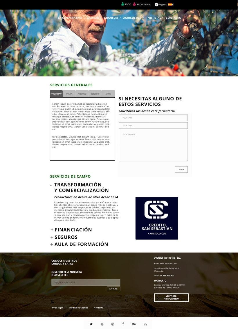 Diseño web. SCA 3