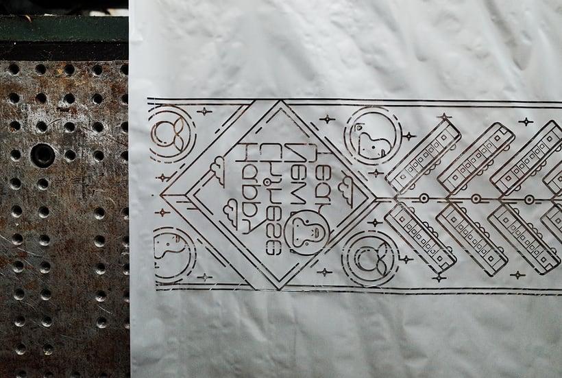 El metro de Taipei celebra sus 20 años con diseño 12