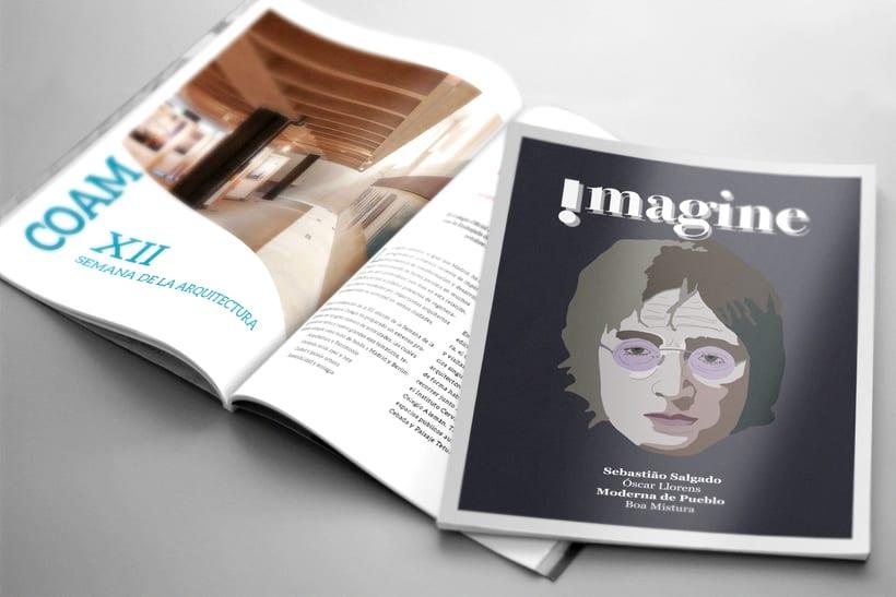 Ilustración portada revista 0