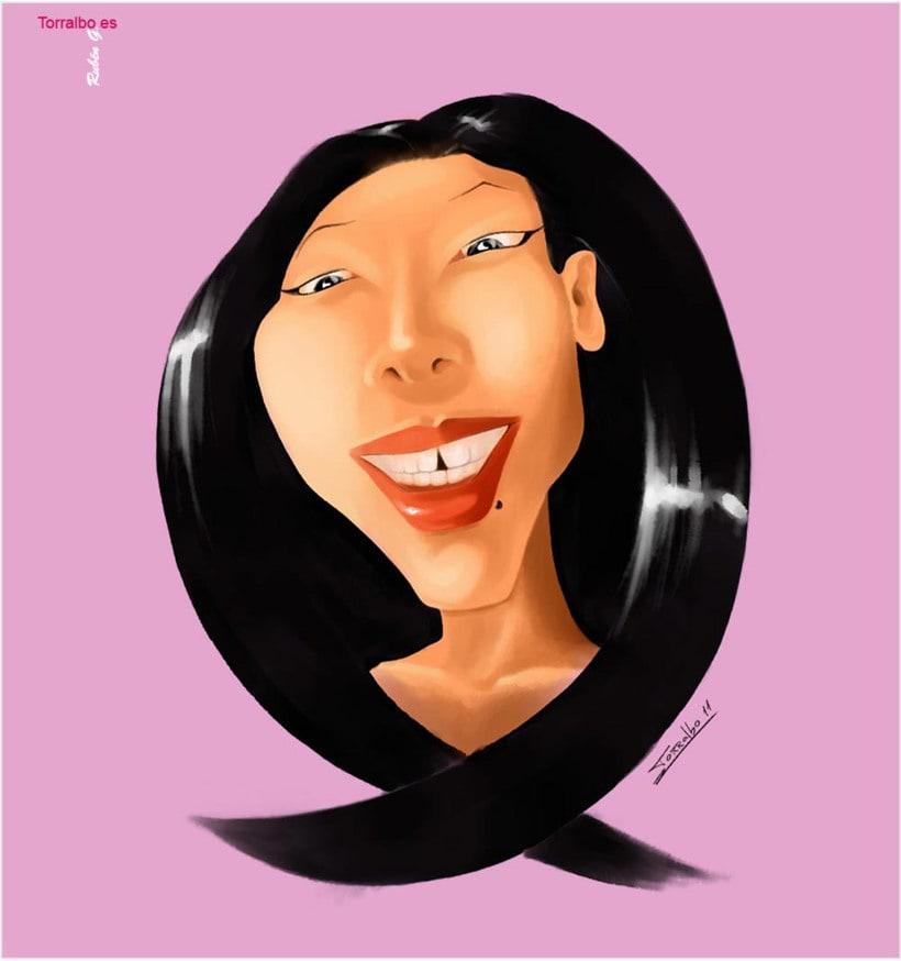 Lyza Caricature -1