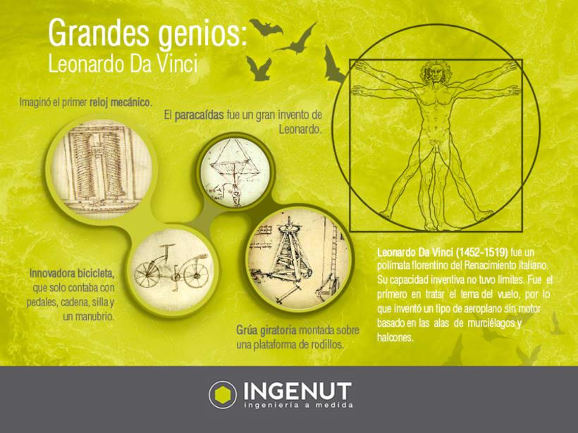Infografías y Creatividades INGENUT  2