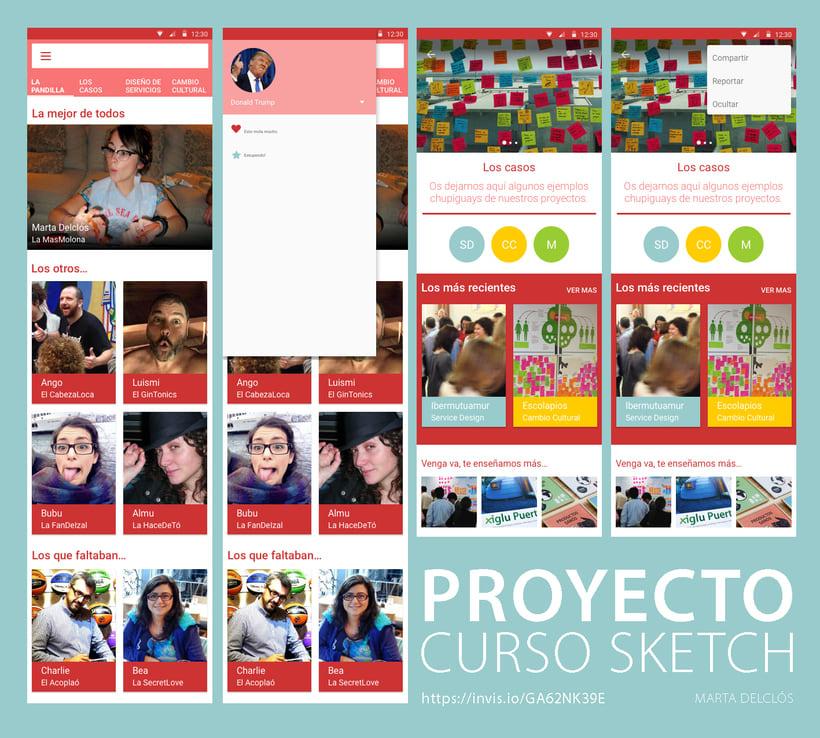 Mi Proyecto del curso: Diseño de Interfaces con Sketch.   0