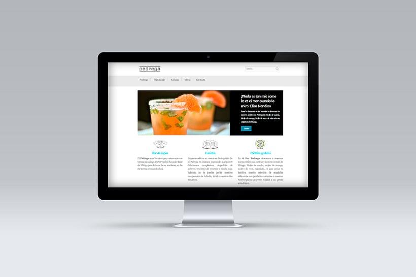 Diseño y Desarrollo web BAR PEDREGA 2