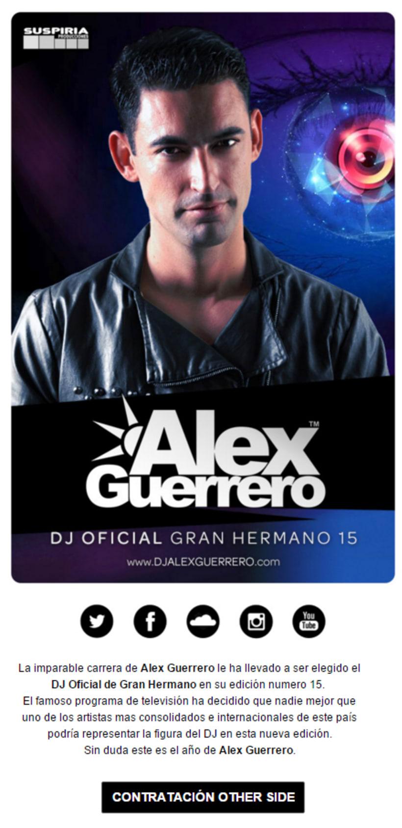 Dj Oficial Gran Hermano Alex Guerrero 0