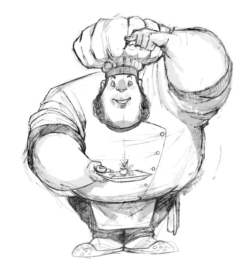 Character design sketchbook. 5