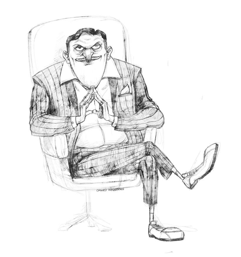 Character design sketchbook. 3