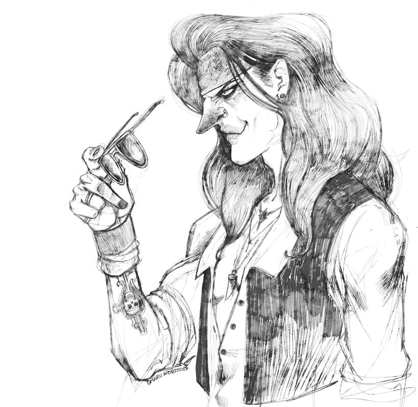 Character design sketchbook. 6