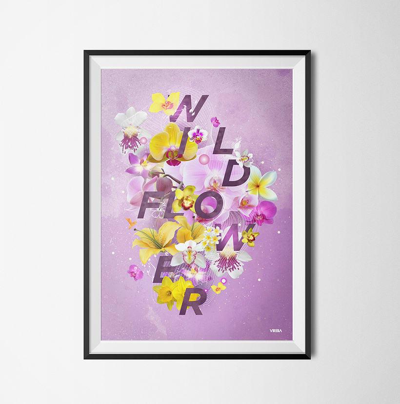 Wild Flower Poster 1