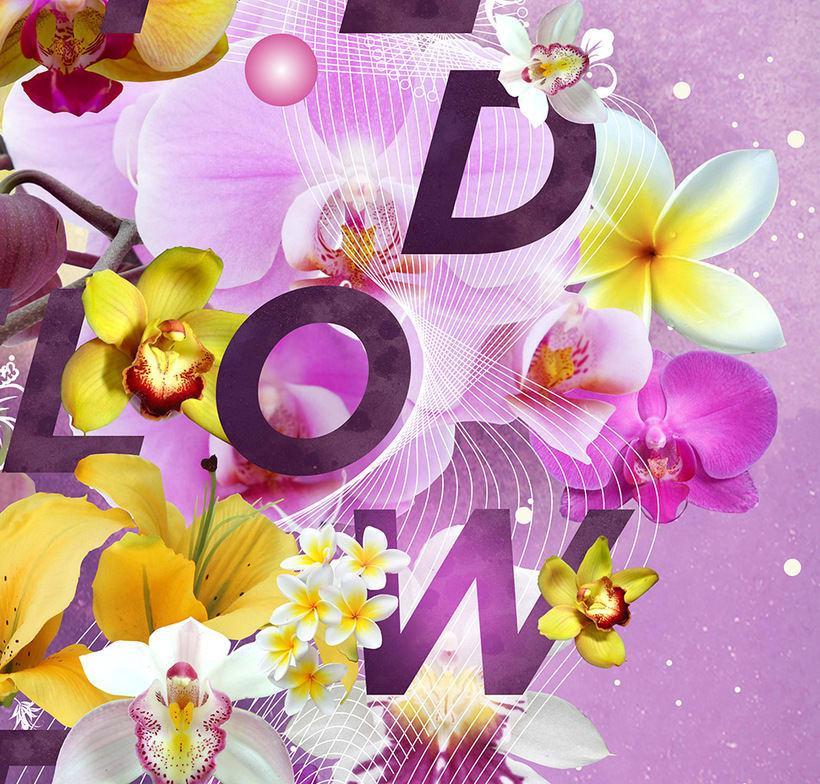 Wild Flower Poster 2