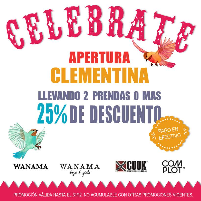 "Banners para ""Clementina"" 13"