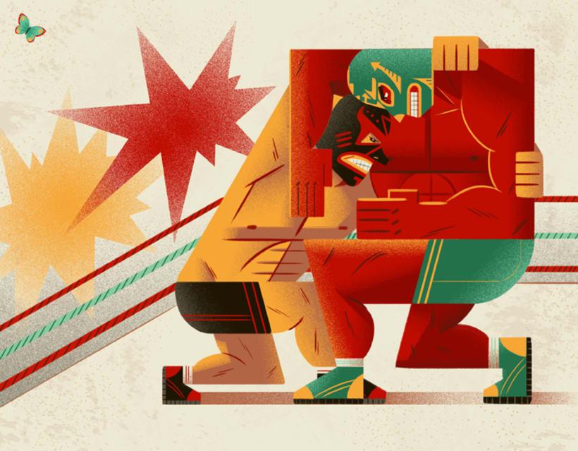 Gabriela Zurda y su cubismo animado  1