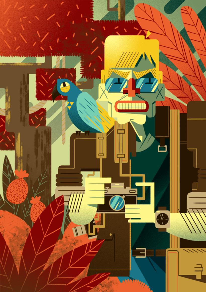 Gabriela Zurda y su cubismo animado  5