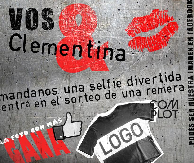 "Banners para ""Clementina"" 1"