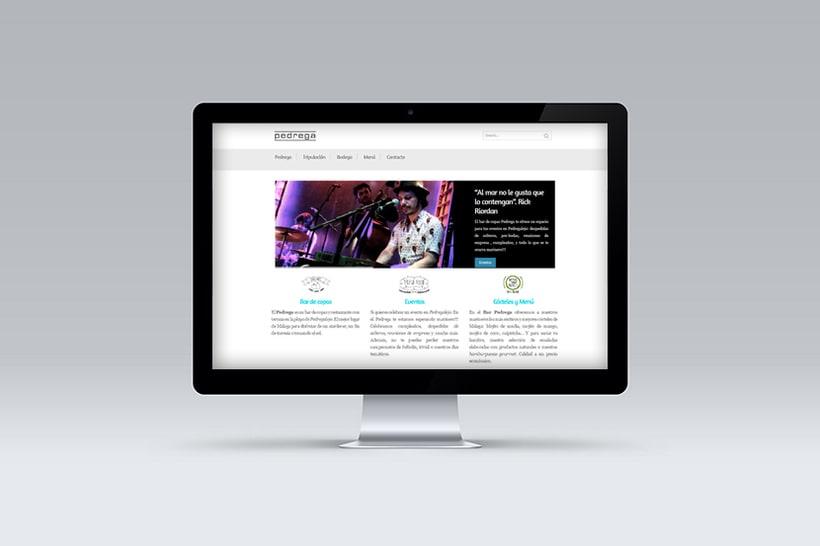 Diseño y Desarrollo web BAR PEDREGA 1