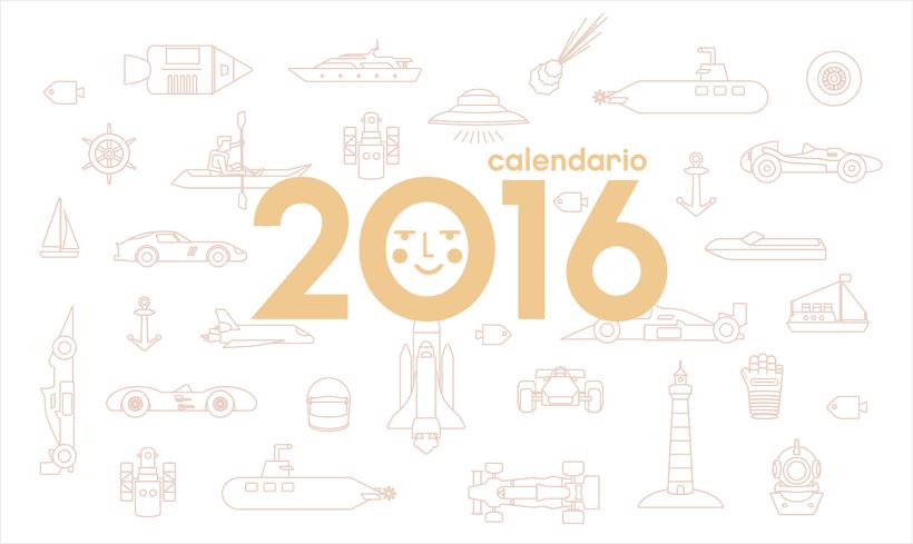 Calendario  2016  1