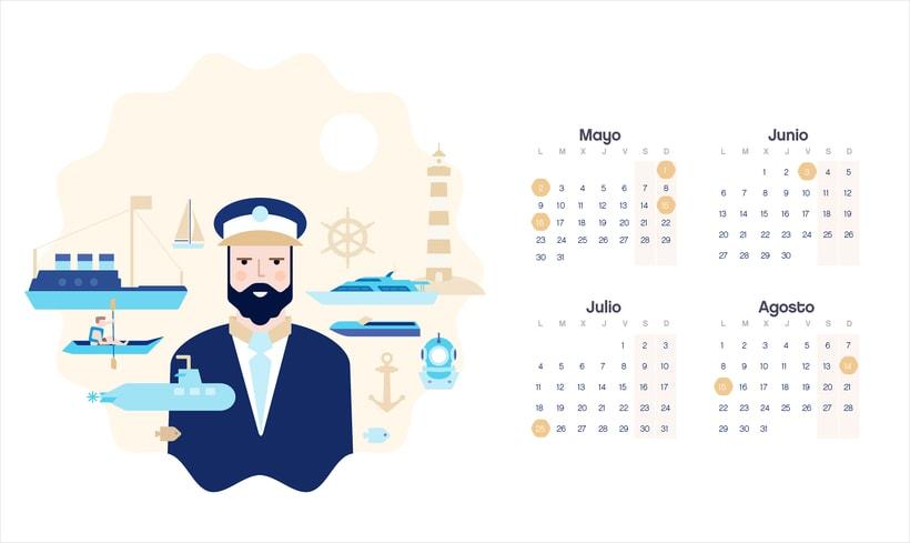 Calendario  2016  5