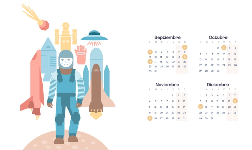 Calendario  2016  6