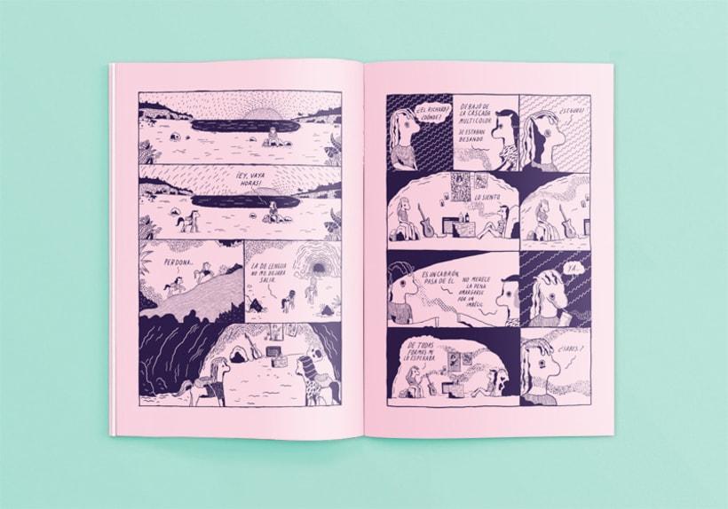 Disfruta de irreales situaciones con los cómics de Ana Galvañ  1
