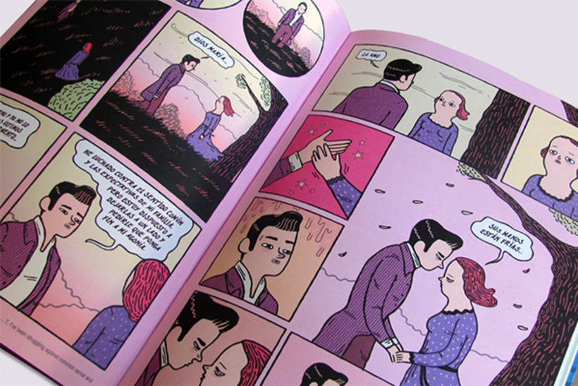 Disfruta de irreales situaciones con los cómics de Ana Galvañ  5