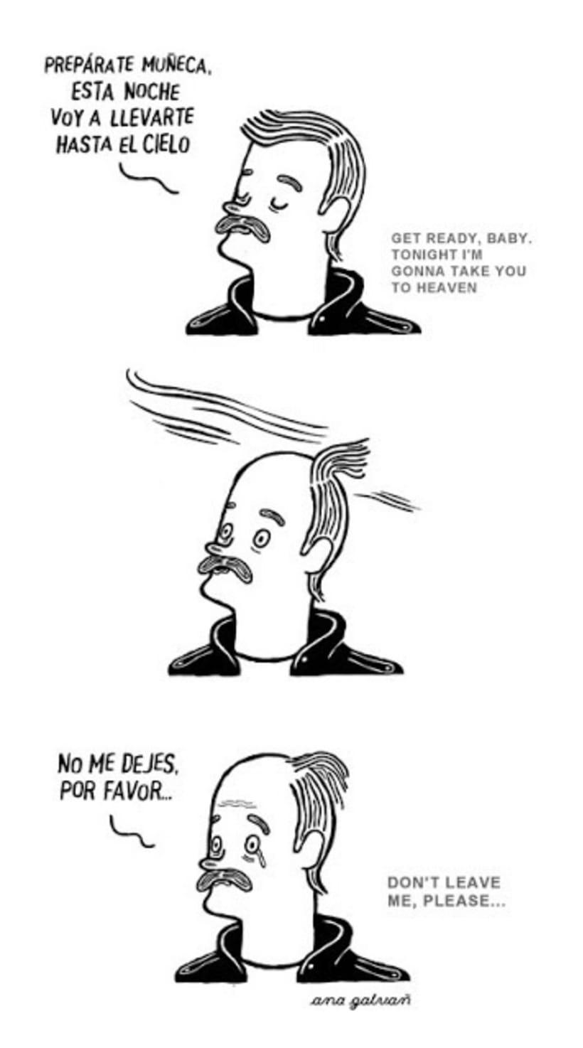 Disfruta de irreales situaciones con los cómics de Ana Galvañ  7