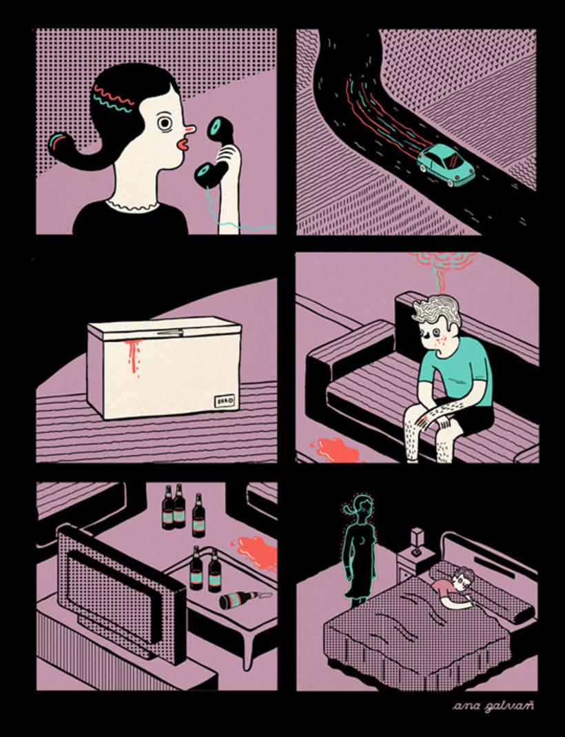 Disfruta de irreales situaciones con los cómics de Ana Galvañ  8