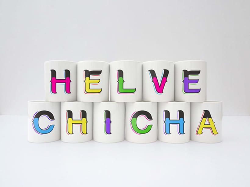 HelveChicha, una tipografía que puede viajar  7