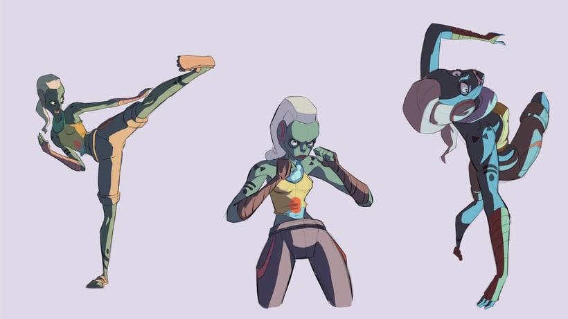 Animation Character Design Portfolio : Character design portfolio domestika