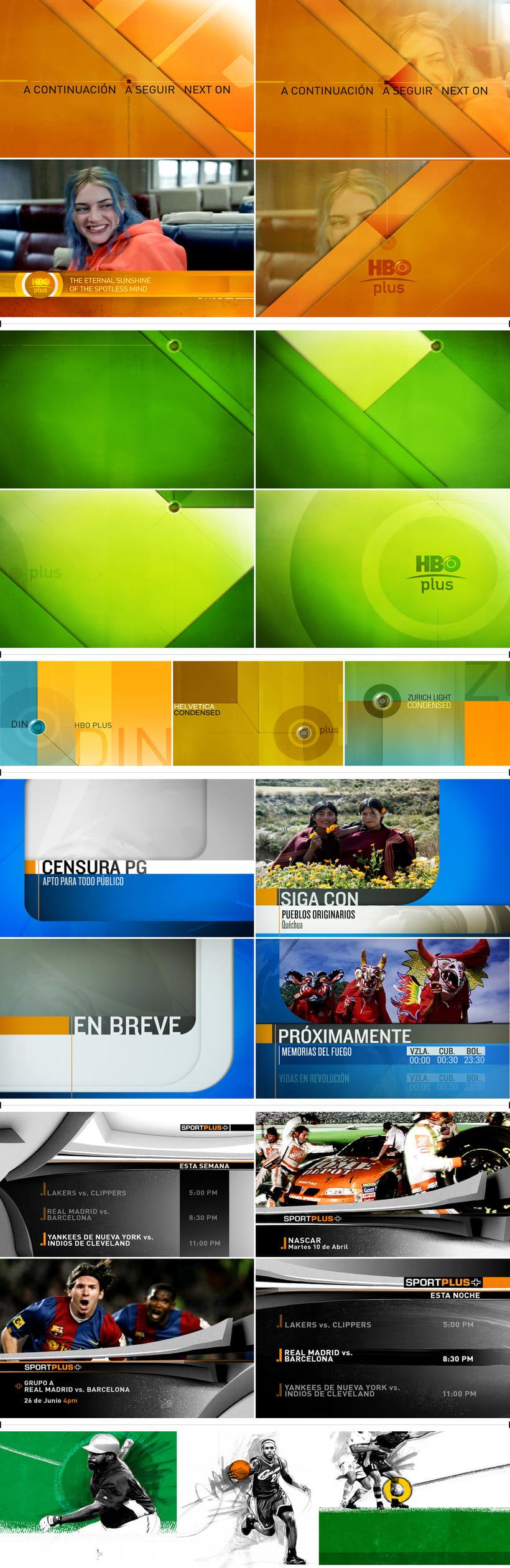 Branding tv / varios canales  0