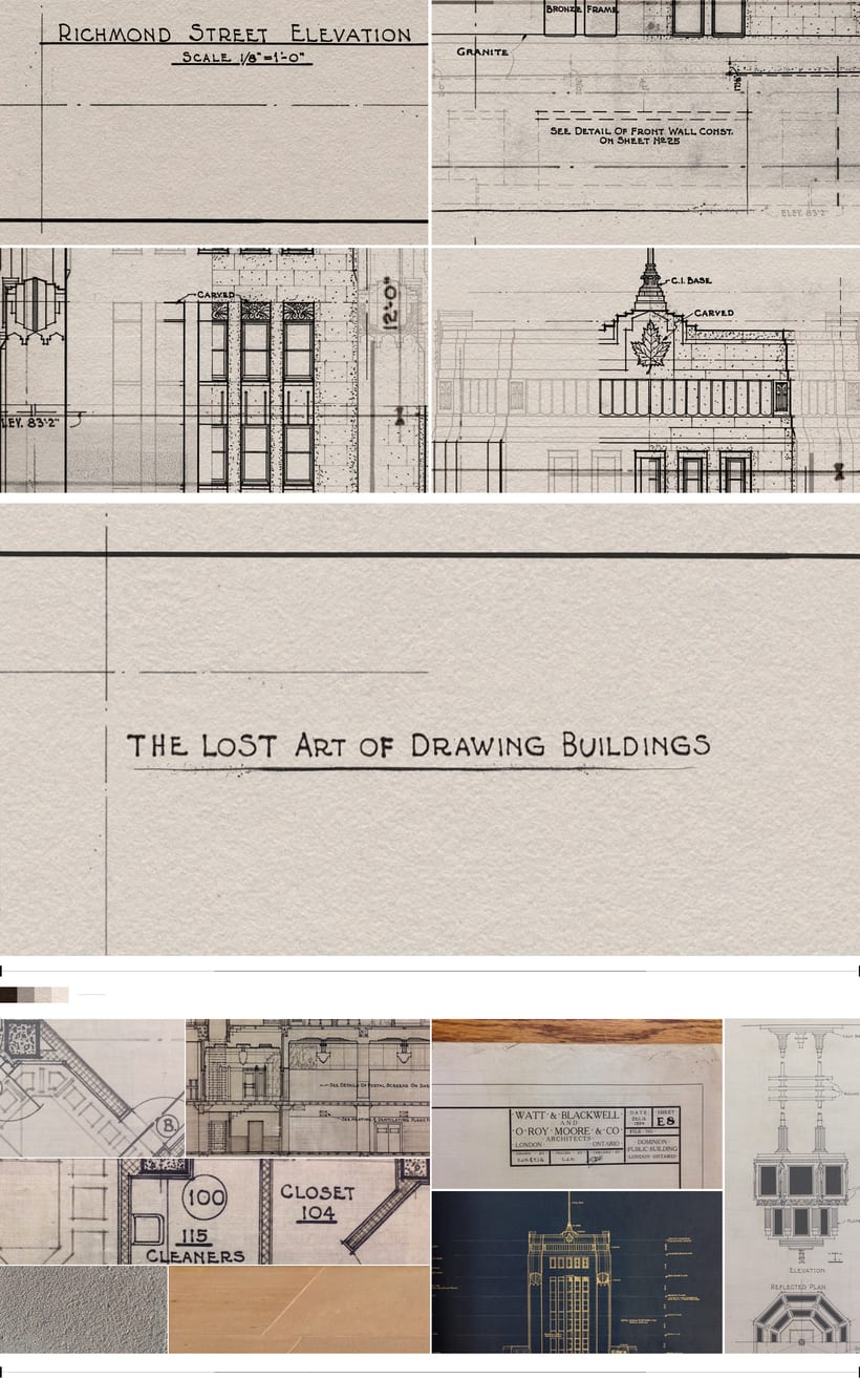 THE LOST ART OF DRAWING BUILDINGS / DOMINION PUBLIC BUILDING 0