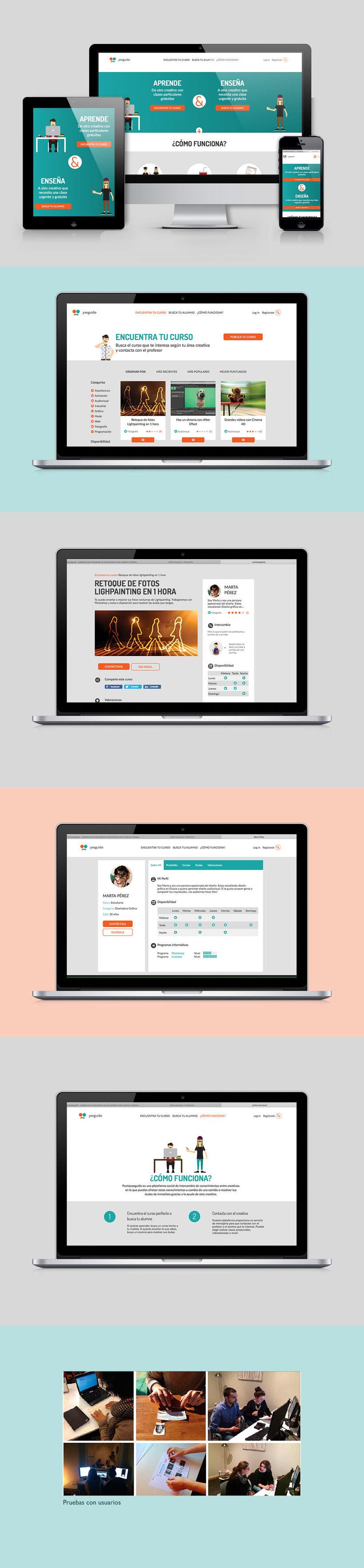 Puntoyseguido - plataforma de intercambio de conocimiento entre creativos 2