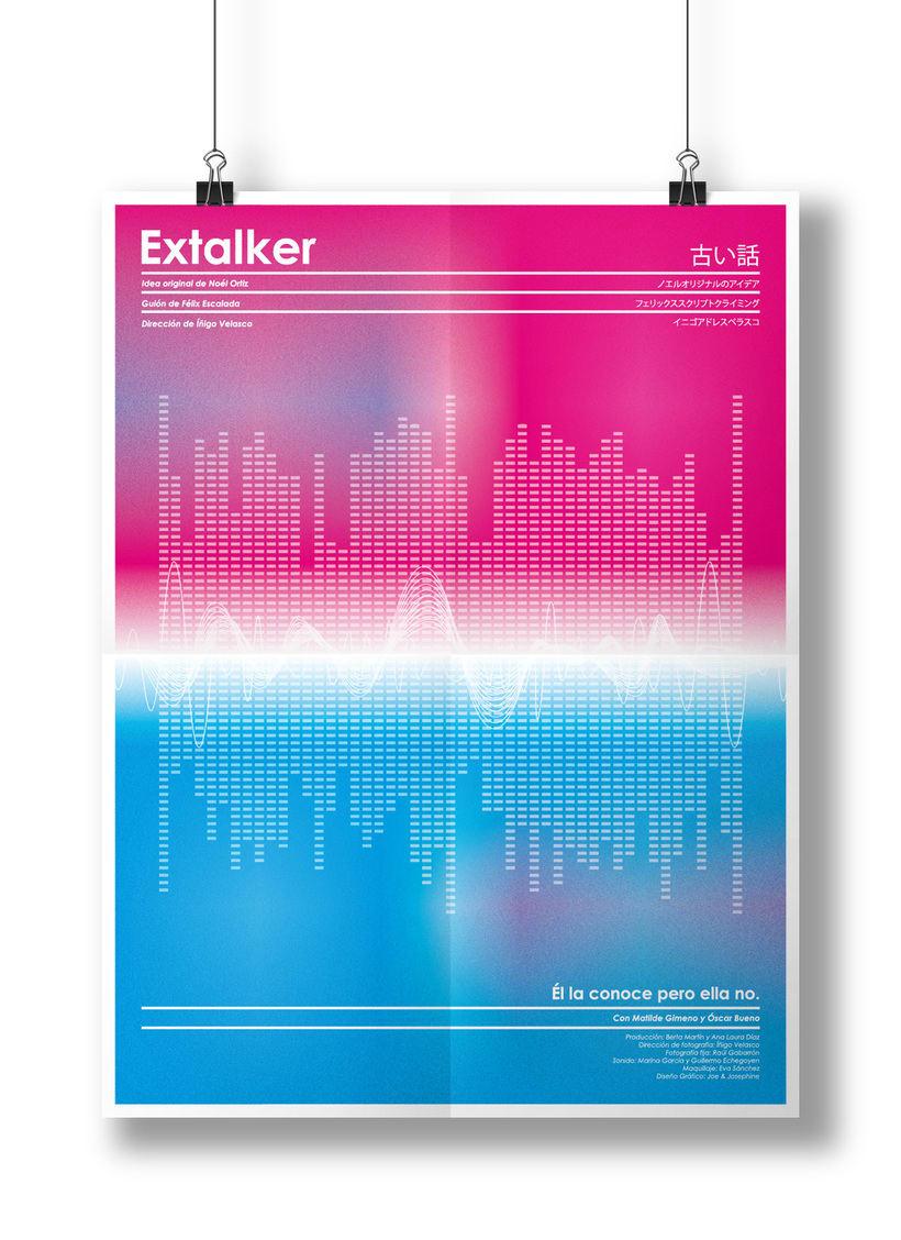 EXTALKER shortfilm poster -1