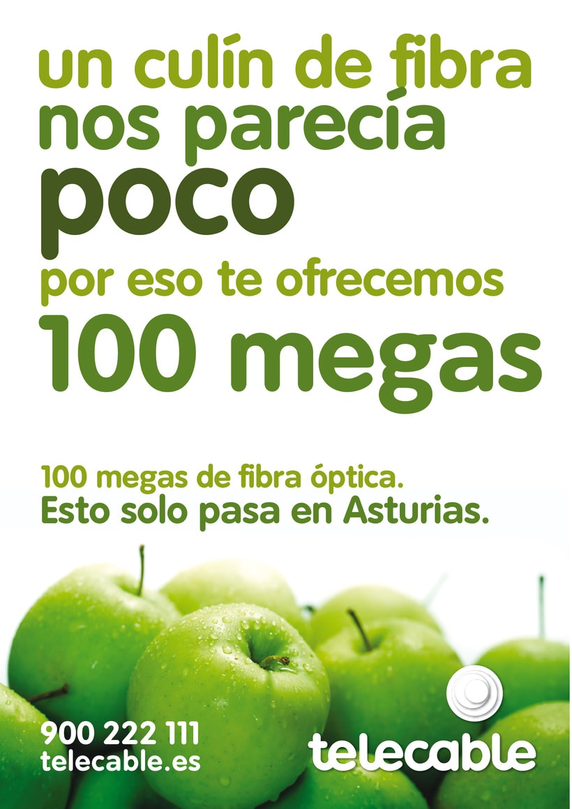 Telecable / Auténtica fibra óptica asturiana 1