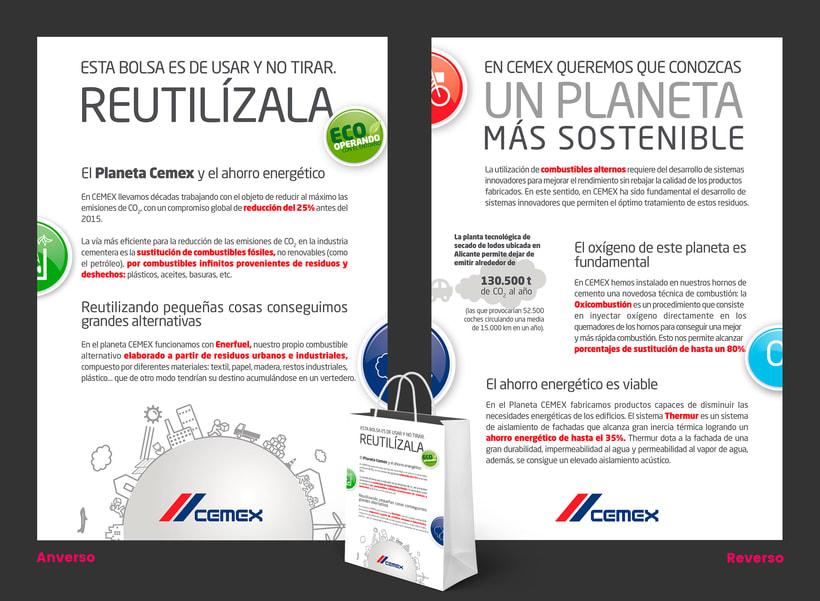 Cemex / Bolsa ecológica -1