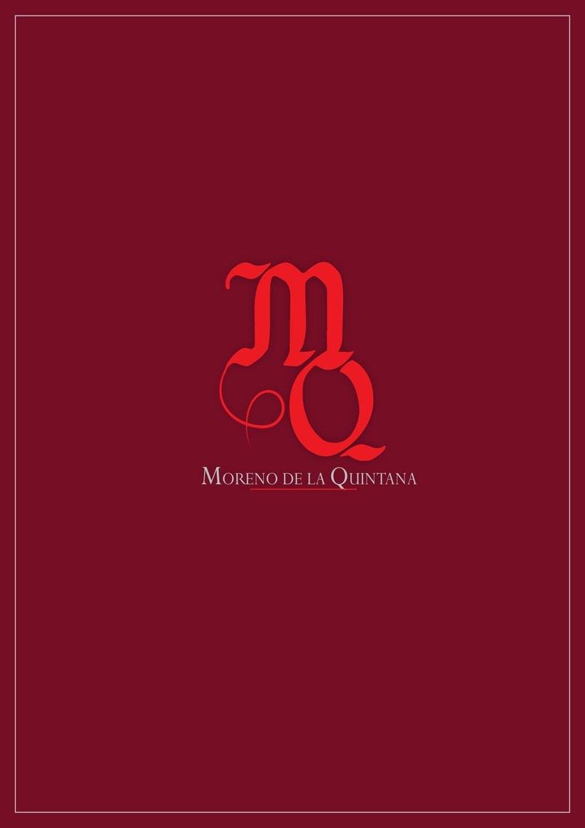 Logotipo, Vino Tradicional, Moreno de la Quintana 0