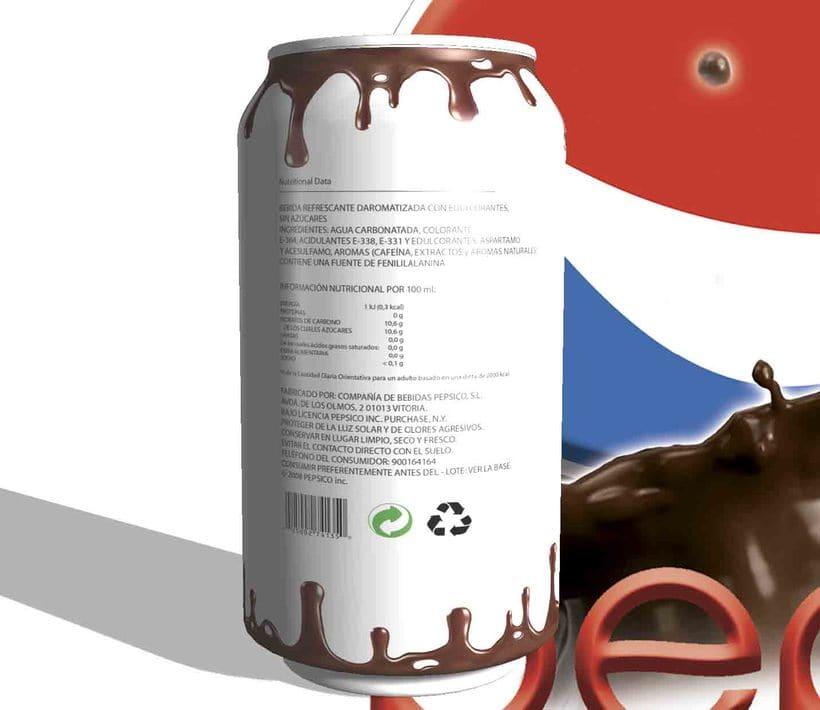 Nuevo sabor pepsi, chocolate 0